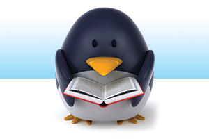 Penguin_Cartoon_Reading_Book_Small